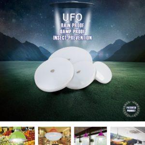 LED lamp UFO model