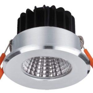LED Downlight inbouw spot zilver