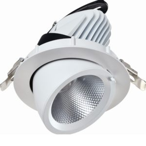 LED banaan downlighter 9W